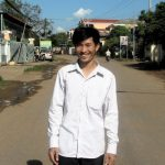 Bin Dim, Project Manager - bin_dim@crdt.org.kh - Wants to work and live in remote areas to continue learning how to develop the knowledge and skills of poor rural communities. He loves keeping his experience and knowledge from university sharp in the field!