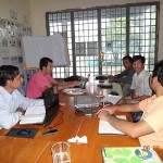 PM monthly meeting at CRDT head office