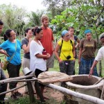 04. Tourists learning about biodigesters on Koh Phdao