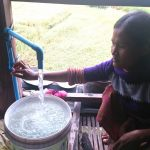 Water supply in Sambour District