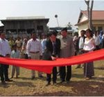 Inauguration of Agriculture Irrigation and Water Supply Systems in Kampong Cham Commune, Kratie
