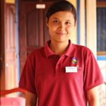 Ms. Den Chitsna, Housekeeper and Trainer at Le Tonle