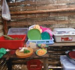 Food preparation by Ecotourism project