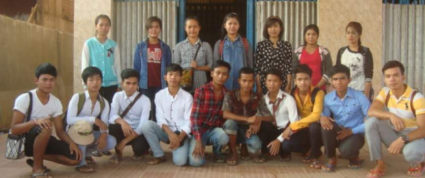 Le Tonlé Tourism Training Center Welcomes the New Batch of Trainees