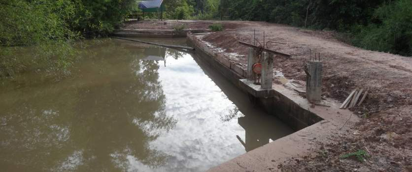 Micro-Hydro Power Dam in Koh Sampeay village commune, Stung Treng Province