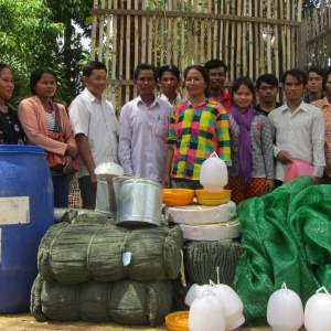 450 Farmers Along the Mekong Supported on Climate Resilient Agriculture