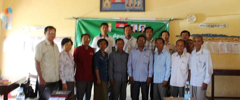 Project Launching Workshop on Cambodia Rural Sanitation and Hygiene Promotion