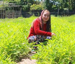 Ms Van Samnang found her opportunities limited