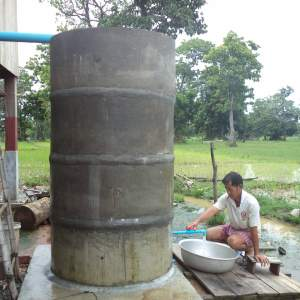 Water for sanitation and home-gardening of rural communities in Ramsar Stung Treng site