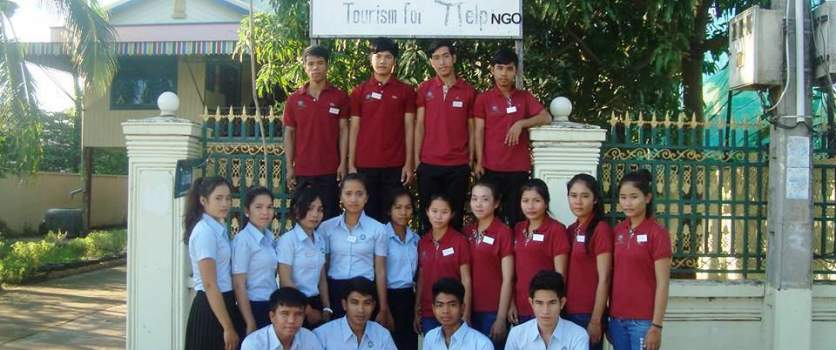 Le Tonlé  Welcomes the New Batch of Trainees of 2014-2015