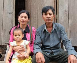Implementation of Water Supply Systems creates Positive Health Conditions and Makes Life Easier for Indigenous Bnoug Family