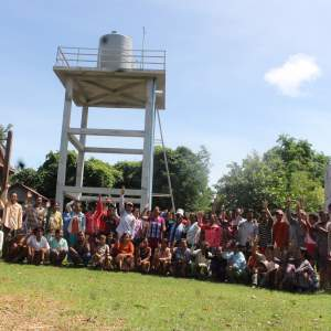 The Water supply system community of Koh Phdao